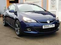 """USED 2015 65 VAUXHALL ASTRA 1.6 GTC LIMITED EDITION CDTI S/S 3d 134 BHP 20"""" Alloys, Bluetooth, Front Fog lights, 2 Owners"""