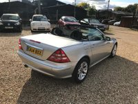 USED 2004 04 MERCEDES-BENZ SLK 2.0 SLK200 Kompressor Special Edition 2dr 1 Owner Special Edition Car