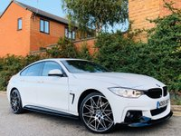 USED 2016 66 BMW 4 SERIES 3.0 435d M Sport Gran Coupe Sport Auto xDrive (s/s) 5dr PERFORMANCE KIT 20S 1 OWNER