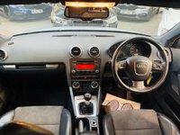 USED 2008 58 AUDI A3 2.0 TDI S line Sportback 5dr HALFLTHR+AUTOLTS+18S+SLINE+SH