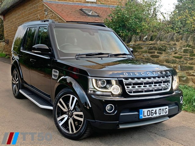 2015 64 LAND ROVER DISCOVERY 3.0 SDV6 HSE LUXURY 5d AUTO 255 BHP