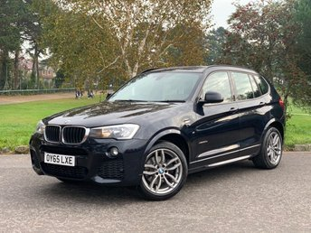 2015 BMW X3 2.0 XDRIVE20D M SPORT 5d AUTO 188 BHP £14650.00
