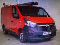 2015 VAUXHALL VIVARO 1.6 2700 L1H1 CDTI P/V ECOFLEX 89 BHP