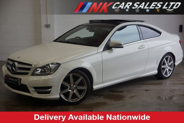 2011 61 MERCEDES-BENZ C CLASS 2.1 C220 CDI BLUEEFFICIENCY AMG SPORT ED125 2d AUTO 170 BHP SOLD TO KYLE FROM DEESIDE