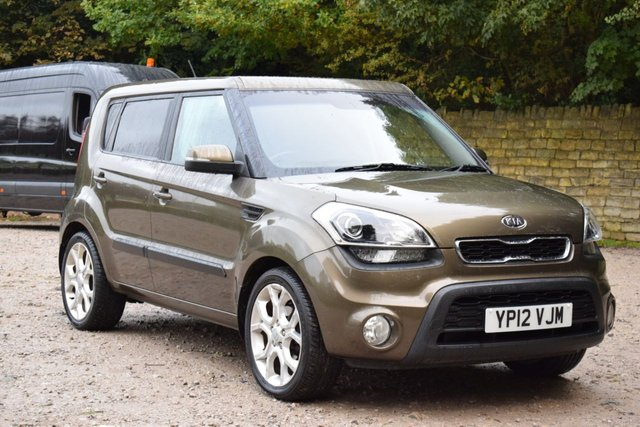 USED 2012 12 KIA SOUL 1.6 HUNTER 5d 138 BHP