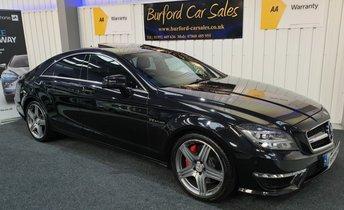 2013 MERCEDES-BENZ CLS CLASS 5.5 CLS63 AMG 4d AUTO 557 BHP £23990.00