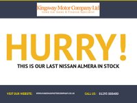 USED 2003 03 NISSAN ALMERA 1.5 S 5d 88 BHP GUARANTEED TO BEAT ANY 'WE BUY ANY CAR' VALUATION ON YOUR PART EXCHANGE