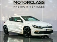 USED 2012 12 VOLKSWAGEN SCIROCCO 2.0 R LINE TDI BLUEMOTION TECHNOLOGY 2d 140 BHP