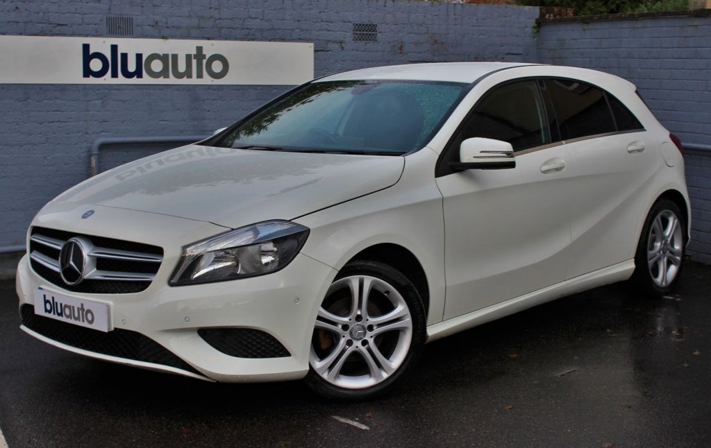 USED 2014 14 MERCEDES-BENZ A 180 1.5 CDI BLUE EFFICIENCY SPORT 5d  2 Owners, Full Service History, Ultra Low Running Costs, Parking Sensors, Cruise Control, DAB radio, Folding Mirrors, Sat Nav, Part Leather Seats, Auto Lights & Wipers