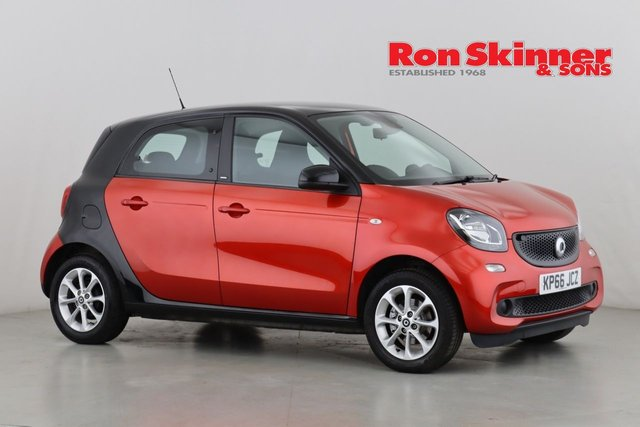 View our 2016 66 SMART FORFOUR 1.0 PASSION 5d 71 BHP
