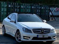 2011 MERCEDES-BENZ C CLASS 2.1 C220 CDI BlueEFFICIENCY AMG Sport Edition 125 7G-Tronic 2dr £5995.00