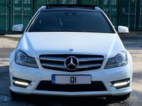 USED 2011 61 MERCEDES-BENZ C CLASS 2.1 C220 CDI BlueEFFICIENCY AMG Sport Edition 125 7G-Tronic 2dr PanRoof/Xenons/DAB/Nav/Cruise