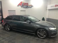 USED 2016 66 AUDI A6 2.0 AVANT TDI ULTRA BLACK EDITION 5d AUTO 188 BHP