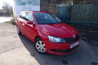 USED 2016 65 SKODA FABIA 1.0 S MPI 5d 59 BHP Service History Two Owners