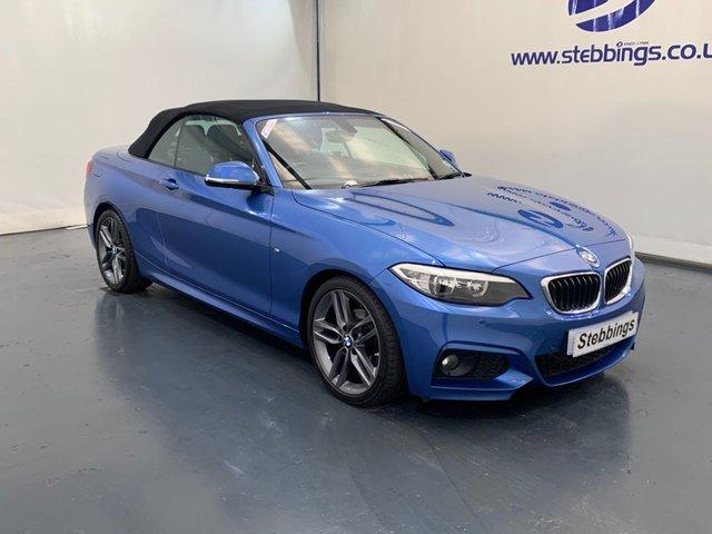 2016 66 BMW 2 SERIES 2.0 218D M SPORT 2d 148 BHP AUTOMATIC CONVERTIBLE