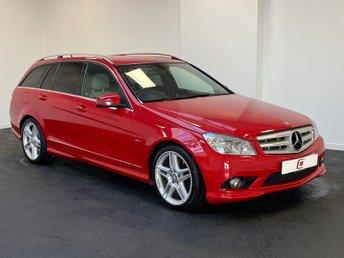 2010 MERCEDES-BENZ C CLASS 3.0 C350 CDI BLUEEFFICIENCY SPORT ESTATE AUTO 231 BHP £6995.00
