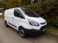 USED 2014 64 FORD TRANSIT CUSTOM 2.2 270 LR P/V 99 BHP ***Nationwide Delivery Available***