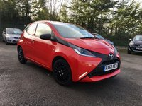2016 TOYOTA AYGO 1.0 VVT-I X 5d  ONE OWNER FROM NEW  £5000.00