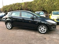 2016 FORD FIESTA 1.0 ZETEC 5d ONE OWNER FROM NEW £7500.00
