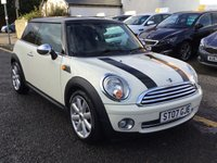 2007 MINI HATCH COOPER 1.6 COOPER 3d 118 BHP £2900.00