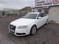 USED 2011 60 AUDI A6 2.0 AVANT TDI S LINE SPECIAL EDITION 5d 168 BHP £38 PER WEEK, NO DEPOSIT - SEE FINANCE LINK