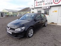 2013 VOLKSWAGEN GOLF 1.6 SE TDI BLUEMOTION TECHNOLOGY 103 BHP £7895.00