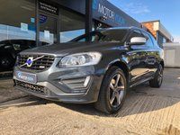 USED 2014 64 VOLVO XC60 2.0 D4 R-DESIGN LUX NAV 5d AUTO 178 BHP NAV,Heated Leather,Full Volvo history