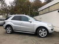 2009 MERCEDES-BENZ M CLASS 3.0 ML350 CDI BLUEEFFICIENCY SPORT 5d AUTO 224 BHP £7995.00
