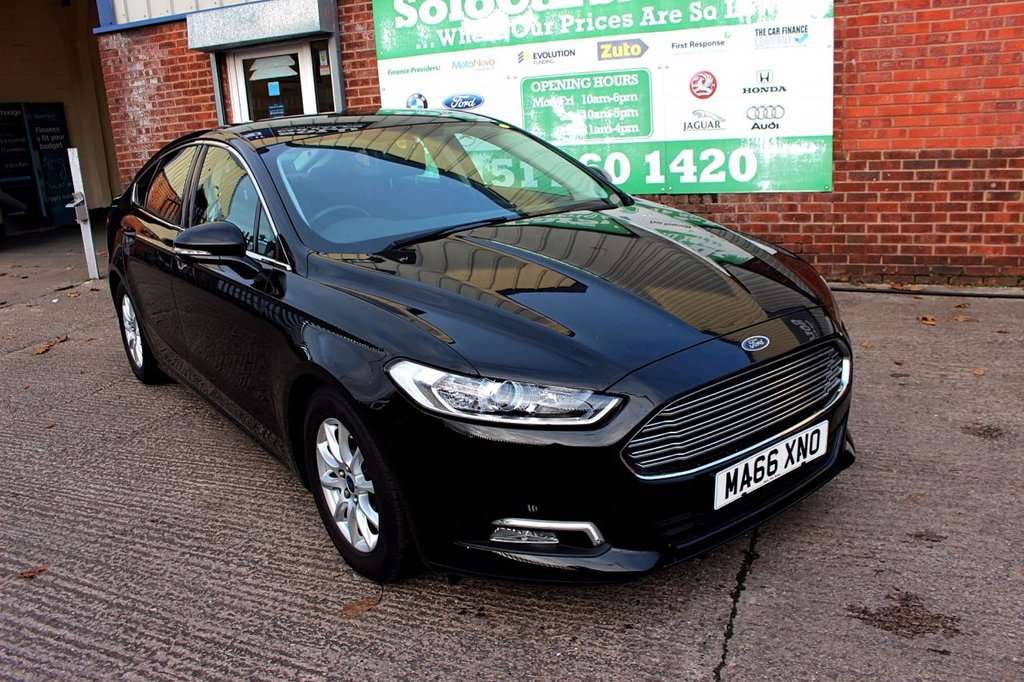 USED 2016 66 FORD MONDEO 1.5 ZETEC ECONETIC TDCI 5d 114 BHP +ONE OWNER +FREE TAX +SAT NAV.