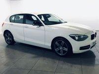 USED 2014 14 BMW 1 SERIES 1.6 116I SPORT 5d 135 BHP 17 ALLOYS | AIR CON |