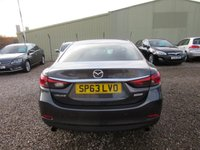 USED 2013 63 MAZDA 6 2.0 SE-L 4d AUTO 143 BHP 1 OWNER AUTOMATIC