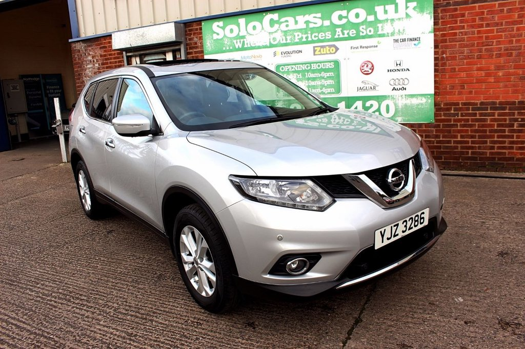 USED 2016 16 NISSAN X-TRAIL 1.6 DCI ACENTA 5d 130 BHP +ONE OWNER +FSH +7 SEATER.