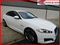 USED 2014 14 JAGUAR XF 2.2 D R-SPORT 4dr AUTO 200 BHP ** 20 ALLOYS, P/GLASS AND R-SPORT BODY STYLING **