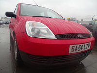2004 FORD FIESTA 1.2 FINESSE 16V LOW MILES GREAT FIRST CAR £1295.00