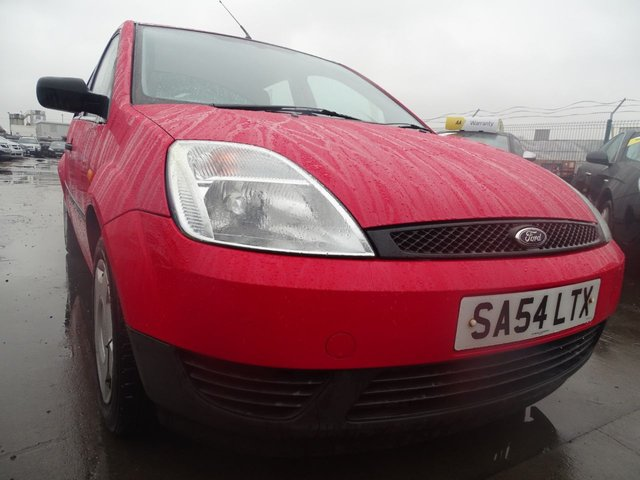 USED 2004 54 FORD FIESTA 1.2 FINESSE 16V LOW MILES GREAT FIRST CAR