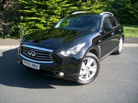 USED 2013 63 INFINITI FX 3.0 FX30D 5d AUTO 235 BHP HUGE LIST PRICE SAVING, JUST 35,000 Miles with Full Comprehensive Service History, HUGE Specification!!