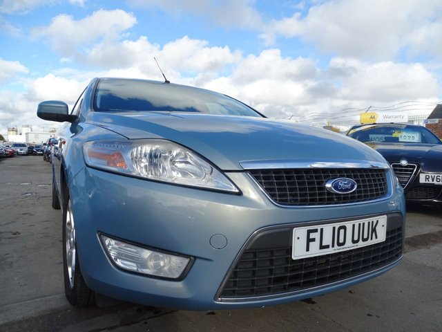 USED 2010 10 FORD MONDEO 2.0 ZETEC TDCI 5d 140 BHP GREAT DRIVE MUST SEE