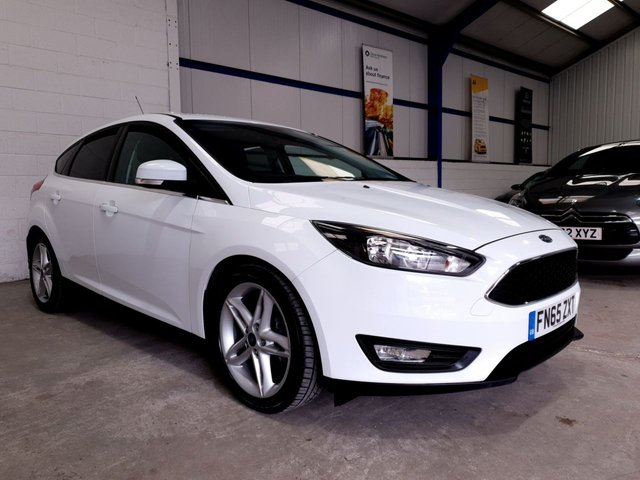 USED 2015 65 FORD FOCUS 1.5 ZETEC TDCI 5d 118 BHP