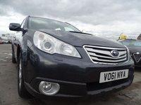 2011 SUBARU OUTBACK 2.0 S BOXER D AWD 5d 150 BHP VERY CLEAN CAR £5000.00
