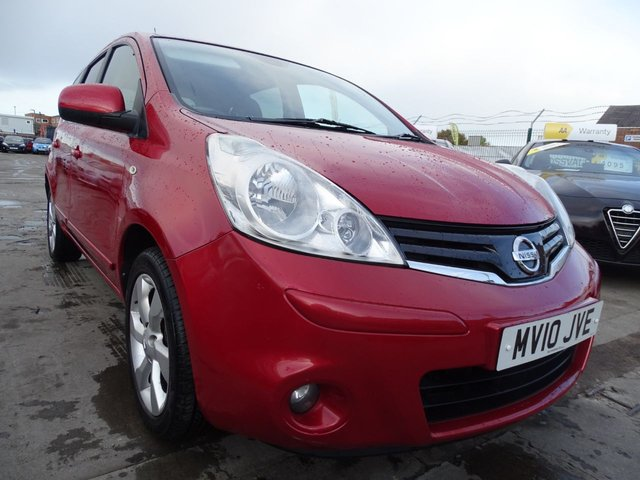 USED 2010 10 NISSAN NOTE 1.6 TEKNA 5d AUTOMATIC MASSIVE SPEC LEATHER