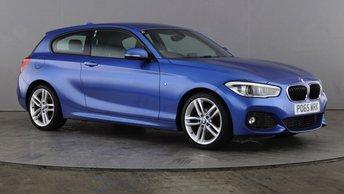 2015 BMW 1 SERIES 1.5 118I M SPORT 3d 134 BHP £12495.00