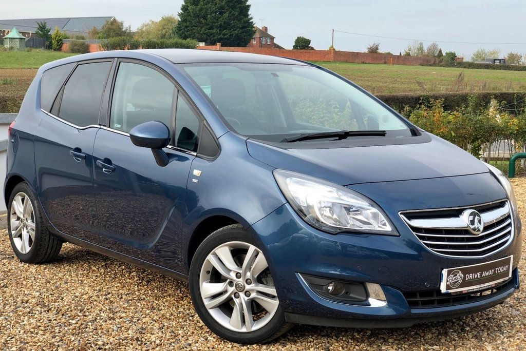 USED 2016 66 VAUXHALL MERIVA 1.4 SE 5d 138 BHP *** 1 OWNER AND FULL SERVICE HISTORY  ***