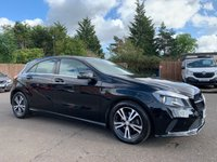 2016 MERCEDES-BENZ A CLASS 1.5 A 180 D SE EXECUTIVE 5d 107 BHP WITH ONE OWNER FROM NEW, SAT NAV, LEATHER £11000.00