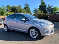 USED 2012 12 FORD FIESTA 1.4 TDCI TITANIUM 5d 69 BHP VERY LOW MILEAGE EXAMPLE WITH FORD HISTORY NO DEPOSIT HP FINANCE ARRANGED , APPLY HERE NOW