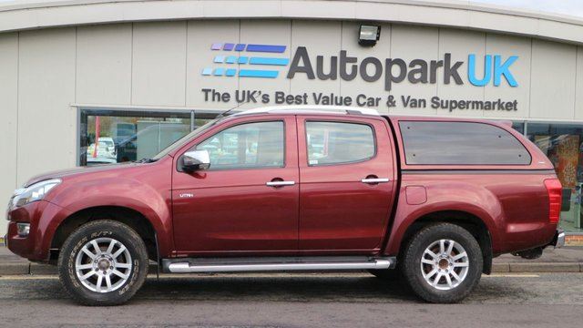USED 2014 63 ISUZU D-MAX 2.5 TD UTAH DCB 164 BHP LOW DEPOSIT OR NO DEPOSIT FINANCE AVAILABLE