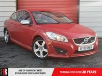 USED 2010 10 VOLVO C30 1.6 D DRIVE R-DESIGN 3d 109 BHP EXCELLENT VALUE FOR MONEY