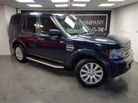 USED 2013 62 LAND ROVER DISCOVERY 4 3.0 4 SDV6 XS 5d AUTO 255 BHP + 7 SEATS + NAV + LEATHER