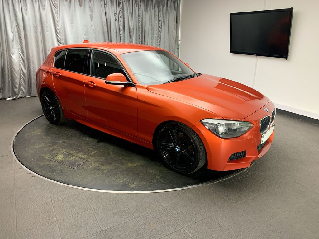 USED 2013 13 BMW 1 SERIES 2.0 118D M SPORT 5d 141 BHP FREE UK DELIVERY, AIR CONDITIONING, AUTOMATIC HEADLIGHTS, AUX INPUT, BMW PROFESSIONAL, CLIMATE CONTROL, CRUISE CONTROL, DAB RADIO, DRIVE PERFORMANCE CONTROL, HEATED DOOR MIRRORS, START/STOP SYSTEM, STEERING WHEEL CONTROLS, TRIP COMPUTER