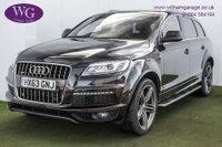 2013 AUDI Q7 3.0 TDI QUATTRO S LINE PLUS 5d AUTO 245 BHP £18995.00