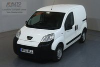 USED 2013 63 PEUGEOT BIPPER 1.2 HDI 75 BHP SWB REAR PARKING SENSORS